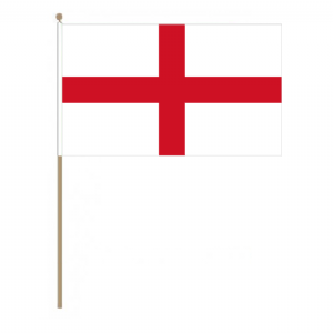England Country Hand Flag, large.